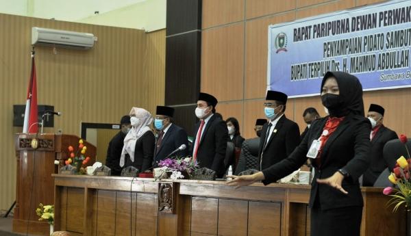 Pidato Perdana, Bupati Sumbawa Sampaikan Lima Agenda Kerja Awal Pemerintahan
