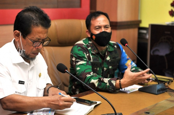 Pangdam IX Udayana Akan Bangun Pompa Hydram di Kabupaten Sumbawa