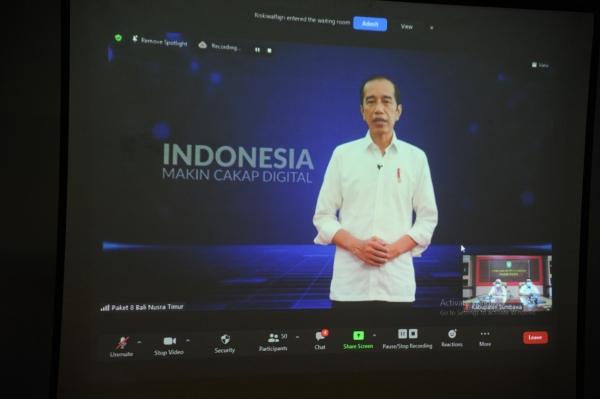 Gerakan  Literasi Digital Nasional Kabupaten Sumbawa tahun 2021