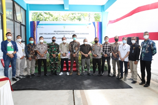 Pelepasan Manager di Lingkungan PT PLN (Persero) UP3 Sumbawa