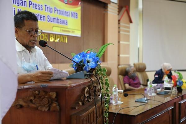 Kunjungan dan Silaturahmi Forum Wartawan Provinsi NTB Dalam Acara Press Trip di Kabupaten Sumbawa