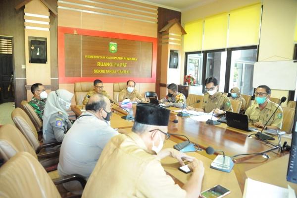 Rapat percepatan Vaksinasi di Kabupaten Sumbawa